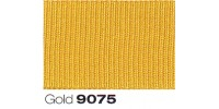 6mm Berisfords Grosgrain Ribbon GOLD 9075 (20 metre Reel)