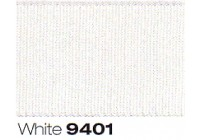 40mm Berisfords Grosgrain Ribbon WHITE 9401 (20 metre Reel)