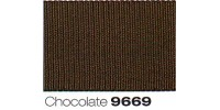 6mm Berisfords Grosgrain Ribbon CHOCOLATE 9669 (20 metre Reel)