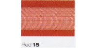 15mm Berisfords Sheer Elegance Ribbon RED 15  (25 metre Reel)