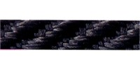 5mm Berisfords Barley Twist Cord  BLACK 10 (20 metre Reel)