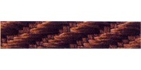 5mm Berisfords Barley Twist Cord HOT CHOCOLATE 488  (20 metre Reel)