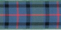 7mm Berisfords Woven Tartan Ribbon FLOWER OF SCOTLAND (25 metre reel)