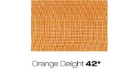 10mm Berisfords Super Sheer Ribbon ORANGE DELIGHT 42 (25 metre reel)