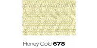 10mm Berisfords Super Sheer Ribbon HONEY GOLD 678 (25 metre reel)