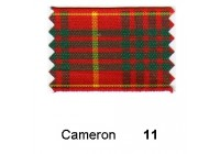 10mm Berisfords Woven Tartan Ribbon CAMERON 11 (25 metre reel)
