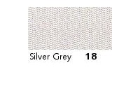 7mm Berisfords Double-Sided Satin Ribbon SILVER GREY 18 (20 metre reel)